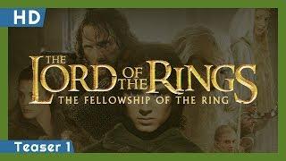 A Gyűrűk Ura: A gyűrű szövetsége előzetes