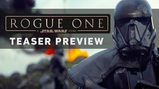 Zsivány Egyes: Egy Star Wars-történet előzetes