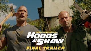 Halálos iramban: Hobbs & Shaw előzetes